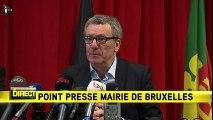 """Bruxelles : """"J'en appelle à la solidarité de tous les Belges pour leur capitale"""", a déclaré le Maire de Bruxelles"""