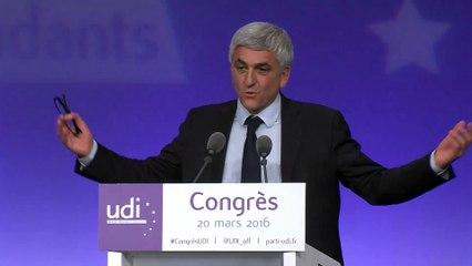 Discours d'Hervé Morin - Congrès - 20 mars 2016