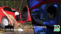 Man crushed by own car: He fails to wear seatbelt, is flung from car mid-crash, dies - TomoNews