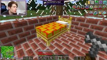 DanTDM Minecraft | NEW ELECTRIC WALL 228 | Diamond Dimensions Modded Survival #228 - Lucky