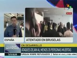 Gabinetes europeos se reúnen tras atentados en Bruselas