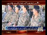 Army Chief Visits Waziristan, Overviews ongoing Operation