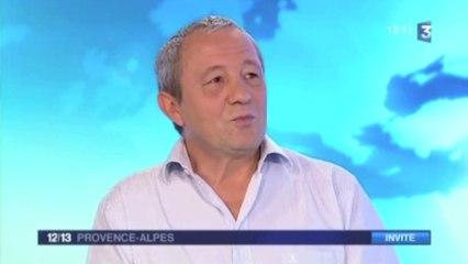 Dominique Lin invité du journal sur France 3, Les Silences de Bosco