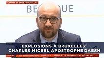 Explosions à Bruxelles: Charles Michel répond à la barbarie de Daesh