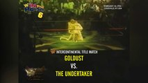 1996-02-18 WWF In Your House #6 Rage In The Cage - WWF Intercontinental Title - Goldust VS The Undertaker