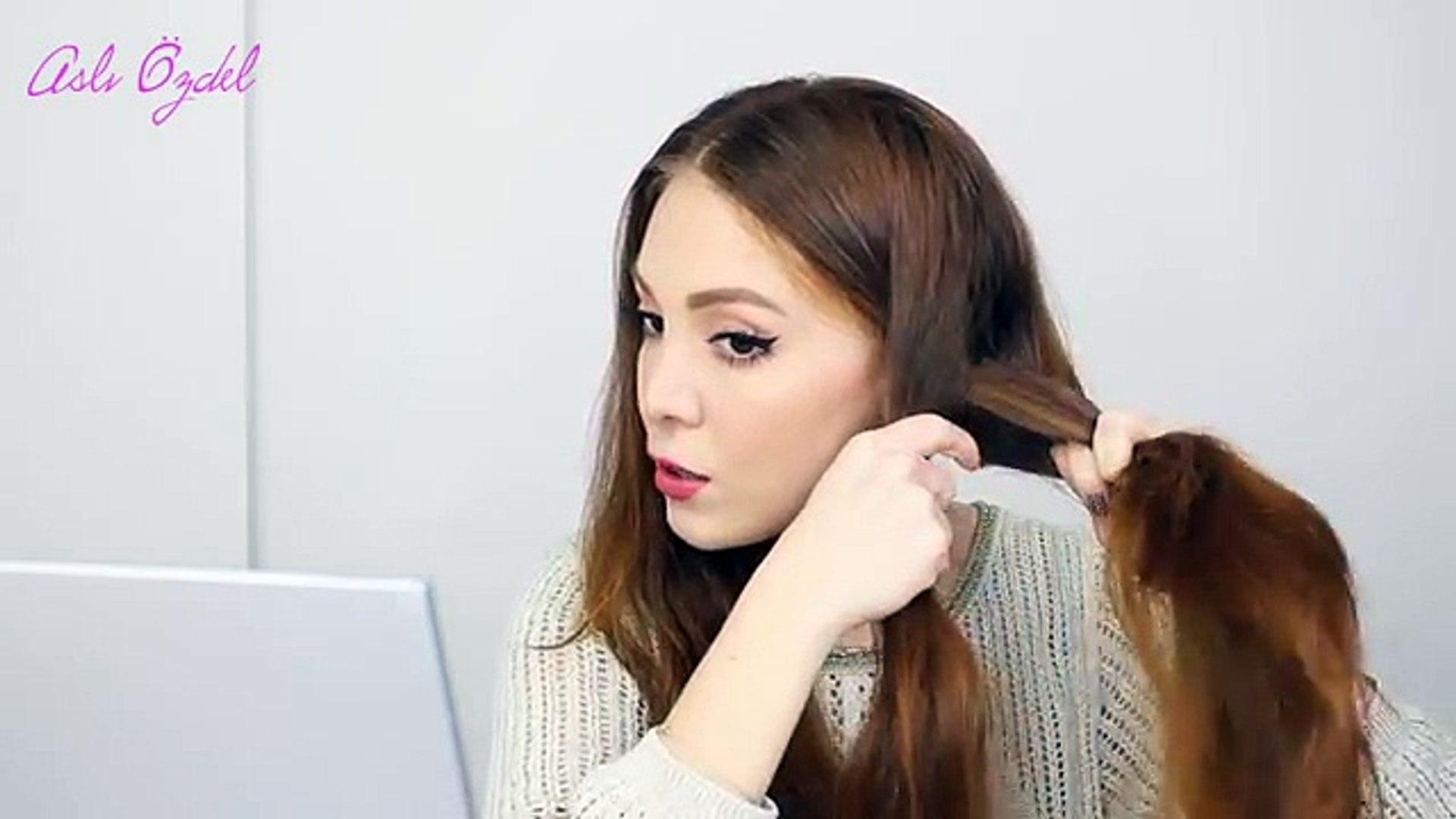 Taç Örgü Nasıl Yapılır? -Saç Modeli- Ⅰ Aslı Özdel (Trend Videos)