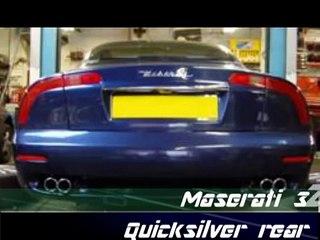 Maserati 3200  Quicksilver exhaust echappement inox