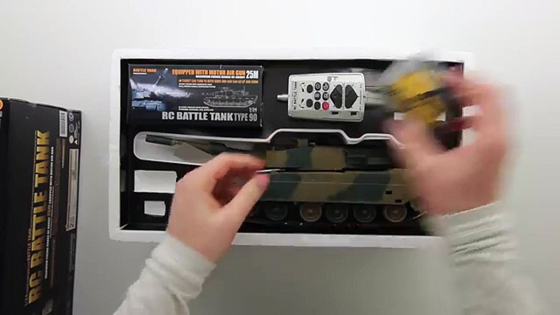 RC Airsoft Battle Tank Unboxing!