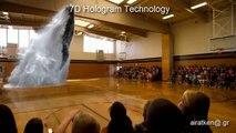 Το μεγάλο ψέμα των δίδυμων πύργων . 7d hologram technology
