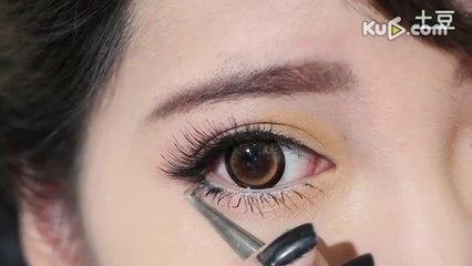 Sweet _ CUTE EYE Make-up  - Beginners Edition