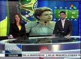 Brasil: pdta. Rousseff reitera que no renunciará