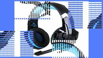 Review  AFUNTA Gaming Headset for PlayStation 4 PS4 Tablet PC iPhone 66s6 plus5s5c5 35mm