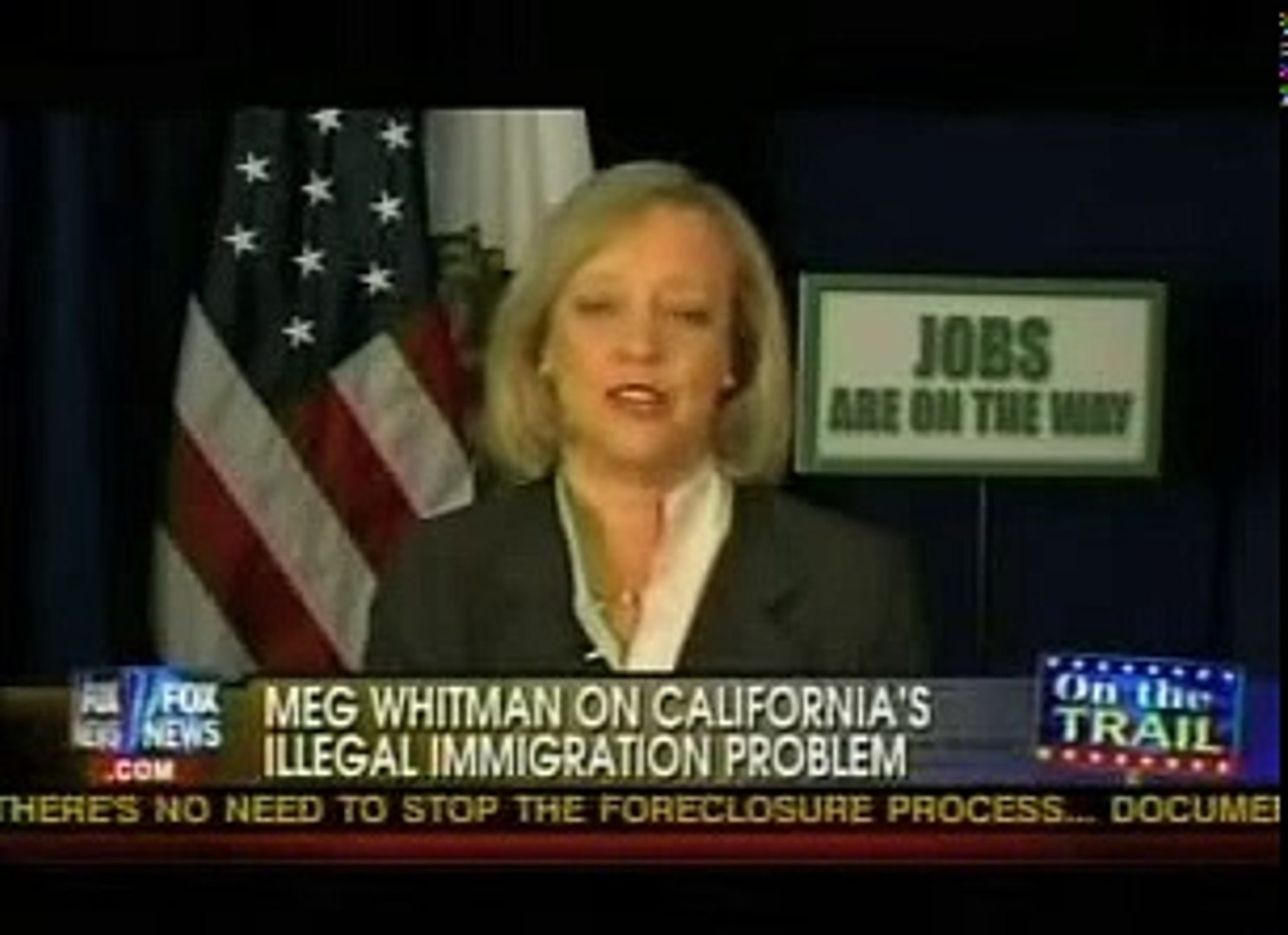 Fox News Channel (On The Record): Meg Whitman Interview (Part 2)
