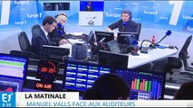 Menace terroriste : Manuel Valls répond aux auditeurs d'Europe 1