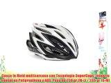 Spiuk Dharma - Casco de ciclismo color negro / blanco talla 53 - 61