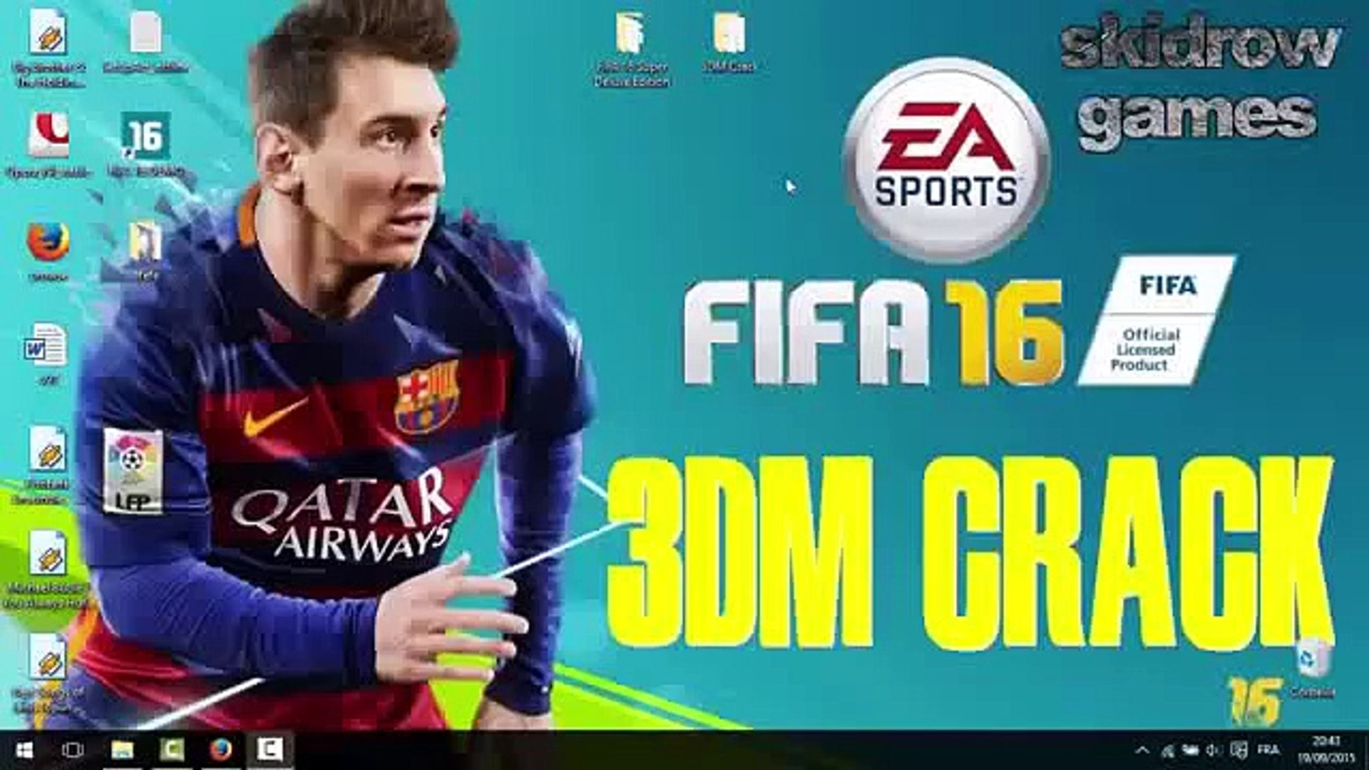 FIFA 16 crack 3dm working win7 8 10 -new