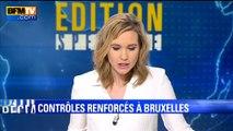 Attentats en Belgique: fouilles et contrôles à l'entrée du métro de Bruxelles