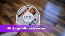 Review Sony PSP UMD movie Dodgeball Dodge ball vince ben stiller playstation portable