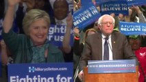 Clinton, Sanders focus on Brussels attacks after March 22 elections