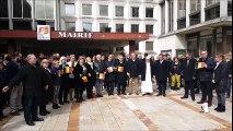 Arras : des sirènes et une minute de silence en hommage aux victimes des attentats de Bruxelles