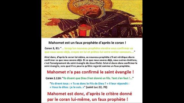 L'islam annoncé dans la Bible