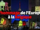 Les capitales europ�ennes rendent hommage aux victimes belges