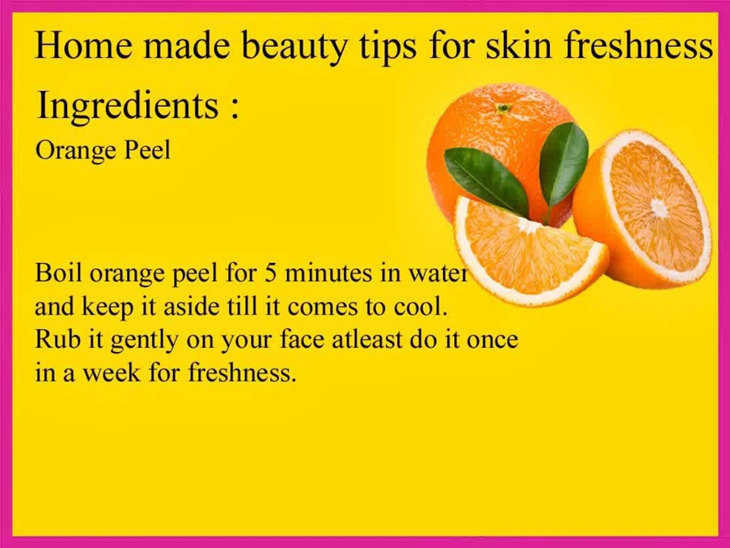 Beauty Tips For Face Video Dailymotion