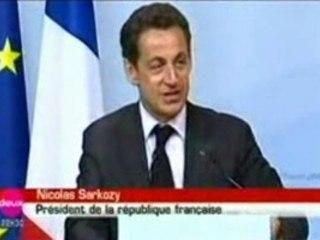Sarkozy G8 - L'eau ferrugineuse, oui
