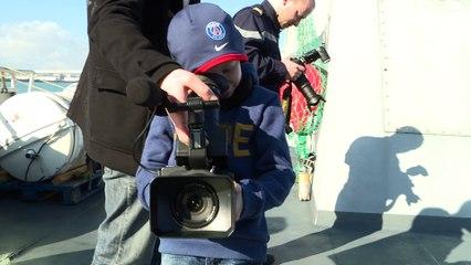 Rêves en Cotention à bord du Patrouilleur de Service Public Flamant