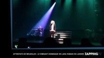 Attentats de Bruxelles : Le vibrant hommage de Lara Fabian en larmes