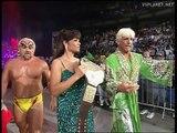 Hulk Hogan & Randy Savage vs Ric Flair & Kevin Sullivan, WCW Monday Nitro 18.03.1996