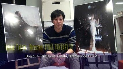 Annonce du doublage français de Final Fantasy XV