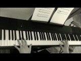Variation on Tarrega Recuerdos de Alahambra by D DiCello piano