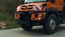 The new Mercedes-Benz Unimog implement carrier Euro VI - U218