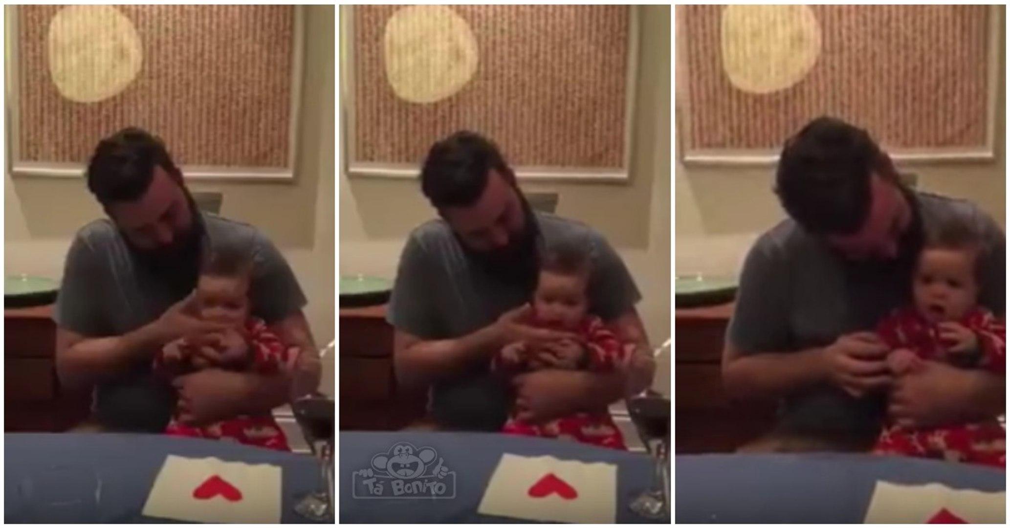 Pai descobre no seu filho bebé um talento incrível para o beatbox