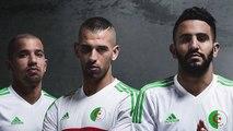 Les nouveaux maillots de l'Algérie dévoilés !
