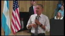 Obama afirma que los republicanos le acusan hasta de convertir a EEUU en Cuba