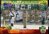 23 March 2016 Pakistan Day Parade - Pakistani Missiles and Tanks Show in parade -First time pakistan solider girls parade
