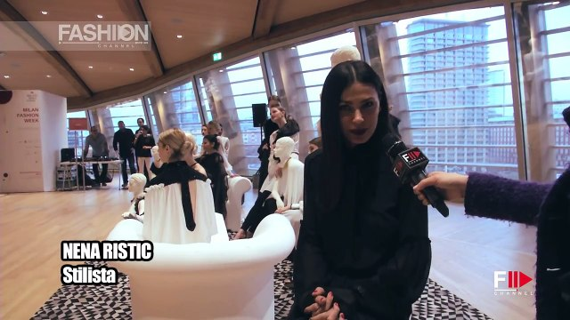 Milan Fashion Week 2016 - Interview to Nena Ristic by Fashion Channel