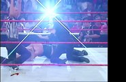 WWF RAW 02.26.2001: Trish Stratus & Vince McMahon vs. Stephanie McMahon & William Regal (HD)