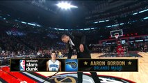 Aaron Gordon Reverse, Between-the-Legs Dunk