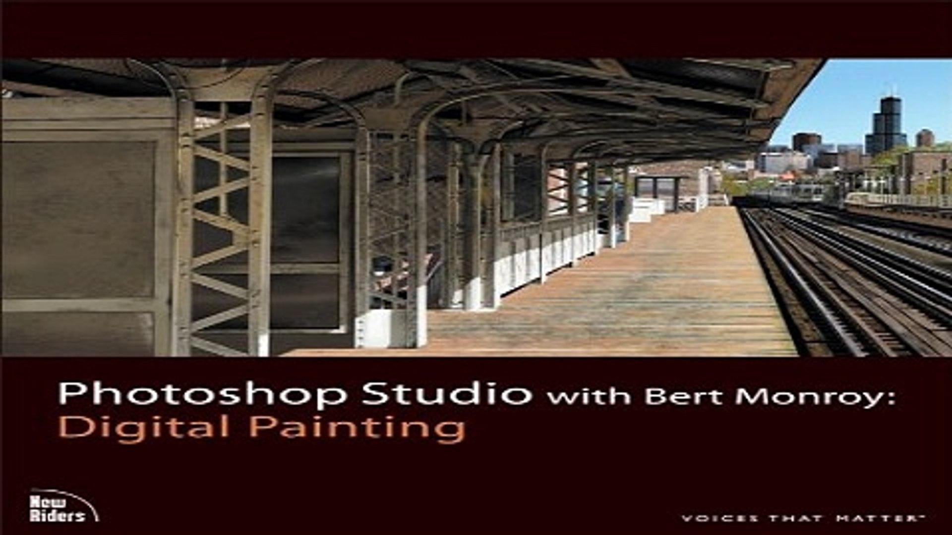 Photoshop Studio with Bert Monroy: Digital Painting