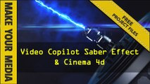 Create Laser Cannon using After Effects, C4D, Videocopilot Saber effect