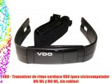 VDO - Transmisor de ritmo cardíaco VDO (para ciclocomputador M5 WL y M6 WL sin cables)