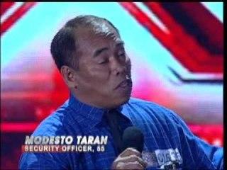X Factor Philippines - MODESTO Boot Camp.wmv