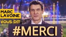 Marc Lavoine, parrain du Téléthon 2015, vous dit merci...