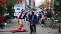 """Quand les internautes """"volent"""" grâce à leur hoverboard"""