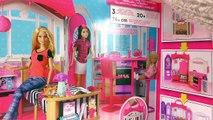 Maison Barbie Glam – Maison de vacances français – Vacances dans la maison de poupée Unbox