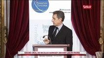 Nicolas Sarkozy « le dit gentiment mais le dit quand même » : les entrepreneurs doivent « s'engager »