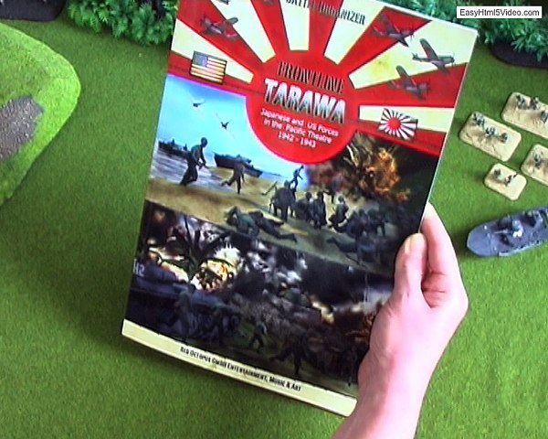 Bienvenue à Frontline!  Tarawa - US & Japanese Forces 1943
